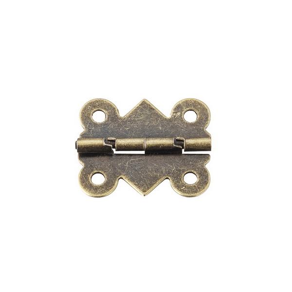 Петля D-019 бронза