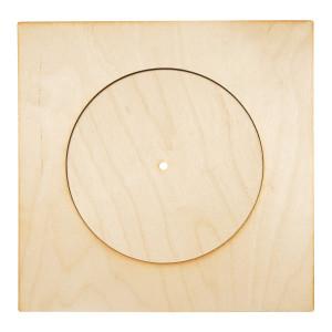 заготовка для часов круг в квадрате 102430