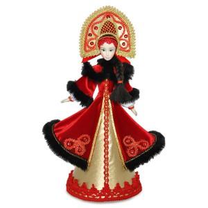Конфетница Дарья в русском национальном костюме. Конус