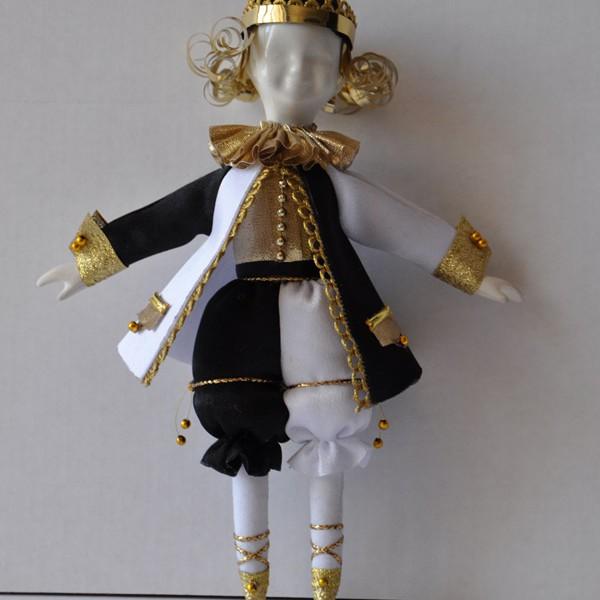 Кукла подвеска Король