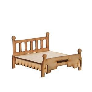 Кукольная мебель. Кровать 2-спальная
