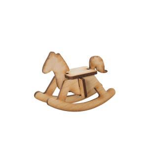 Кукольная мебель. Лошадка-качалка