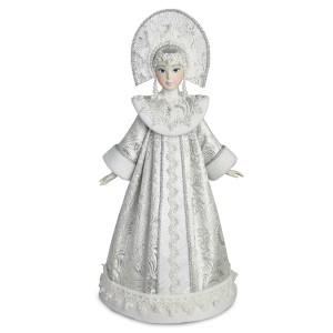 Конфетница Снегурочка серебряная. Конус