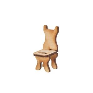 Кукольная мебель. Стульчик без ручек