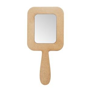 Зеркало с ручкой прямоугольное