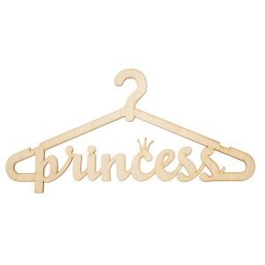 Вешалка-плечики. Princess
