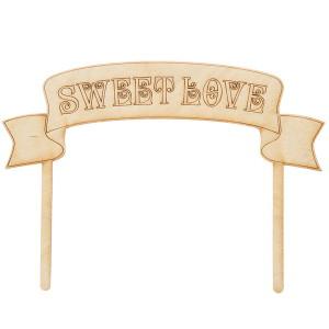 Декор на торт Sweet Love