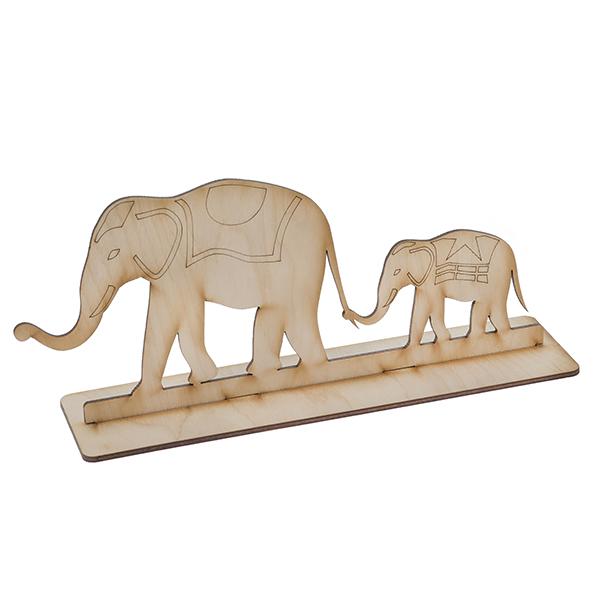 Панно Слоны