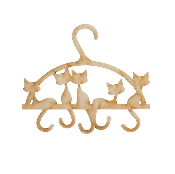 Вешалка для бижутерии Котята