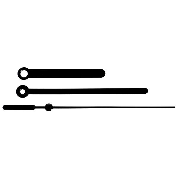 16-K-B: 60/95/98 мм, металлические черные. Секундная черная