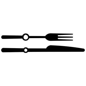 20: 58/72 мм, металлические, черные