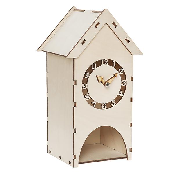 Чайный домик с часами