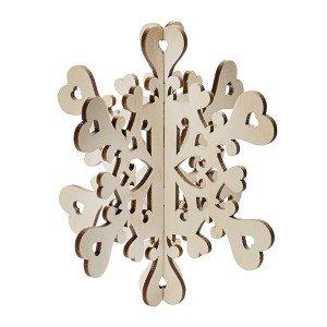 Снежинка объемная
