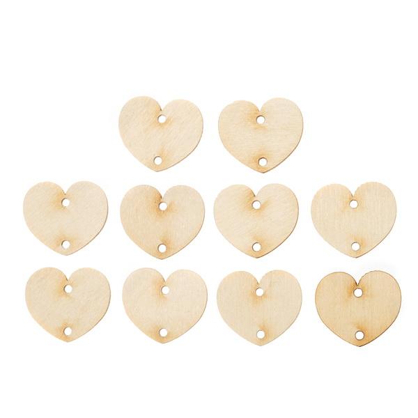 Подвески для семейного календаря Сердце