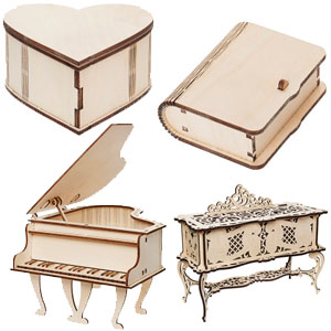 Коробочки и шкатулки для декупажа в СПБ из дерева от производителя | Низкие цены | Доставка по России | Акции и скидки!