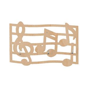 Вешалка 3 крючка Музыкальная