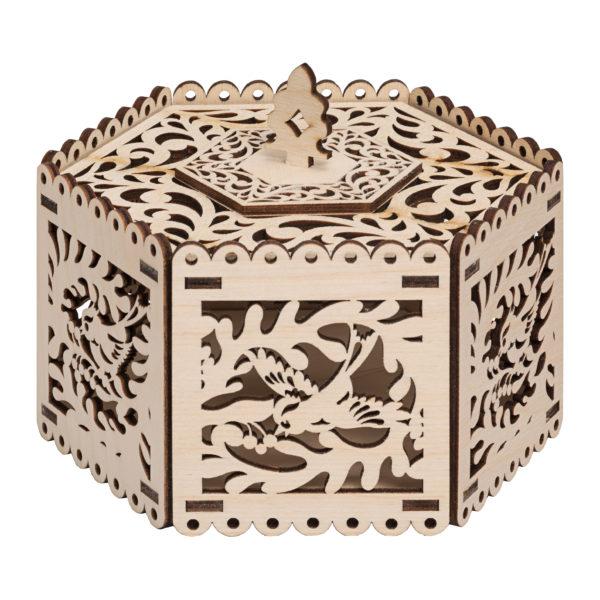 202086 Коробка для конфет с птичками
