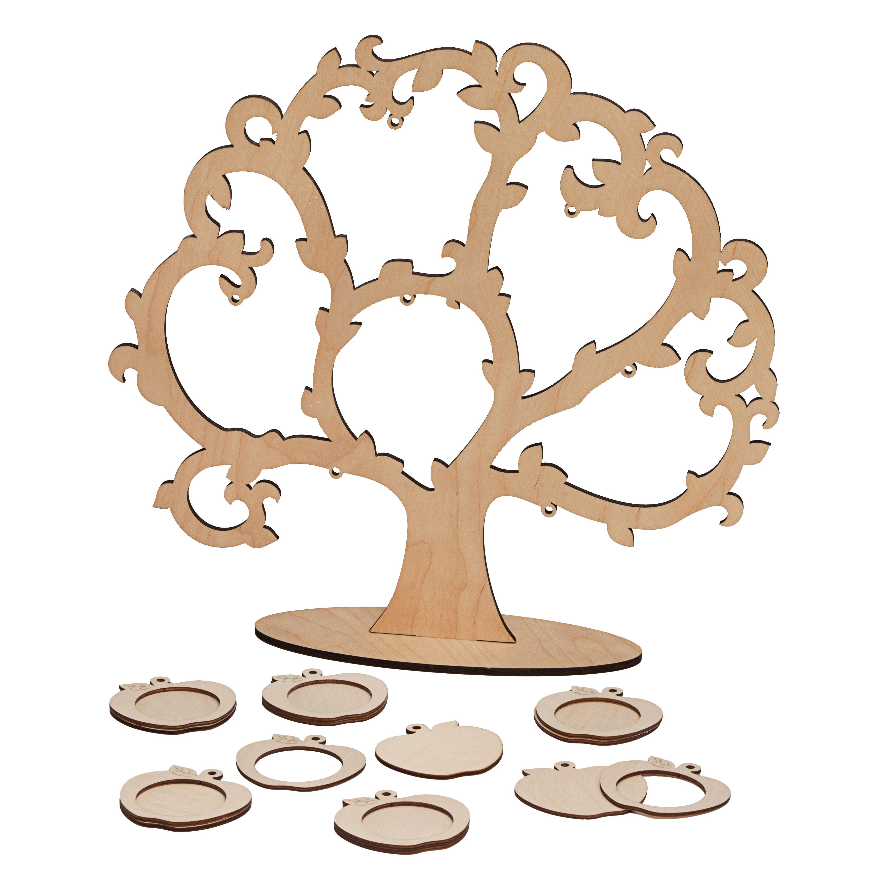 Семейное дерево из фоторамок своими руками