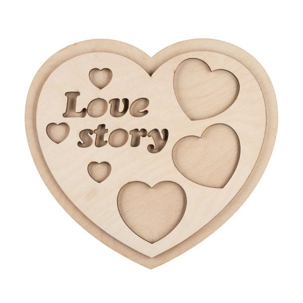 202097 Фоторамка История любви