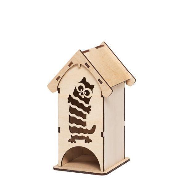 202203 Органайзер для чайных пакетиков Котик