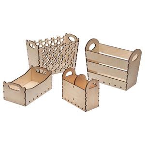 Купить деревянный ящик для декупажа