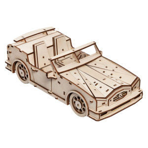 Сборная деревянная модель «Кабриолет»