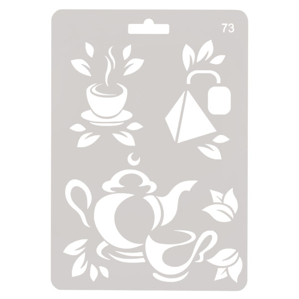 Трафарет №73 Чайный 14х20 см 206720