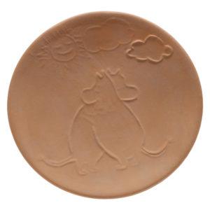 Тарелка с Муми Троллями