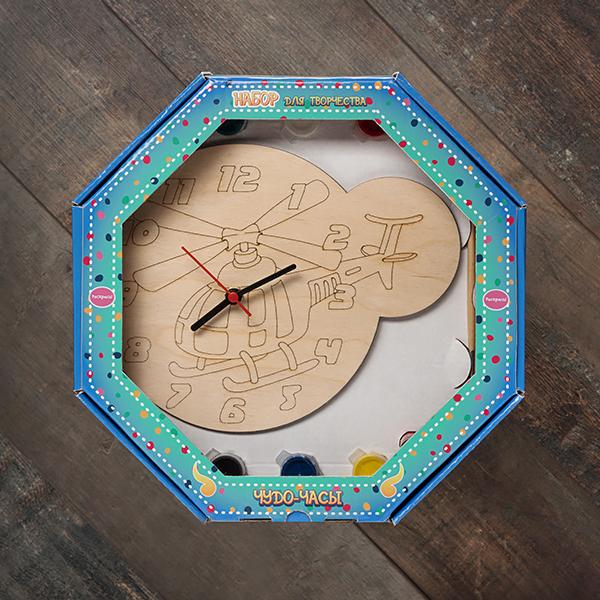 207609 Набор Чудо- часы Вертолёт