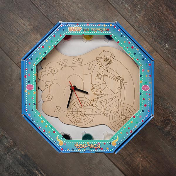 207615 Набор Чудо- часы Велосипед