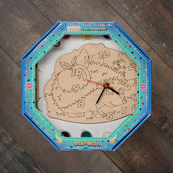 207621 Набор Чудо- часы Ёжик