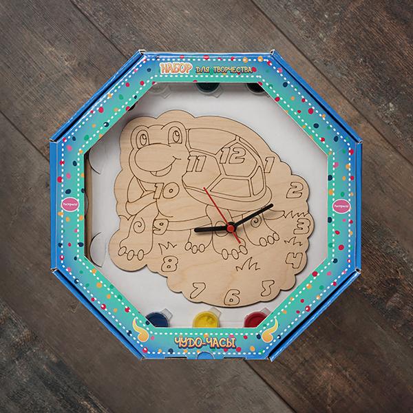 207622 Набор Чудо- часы Черепаха