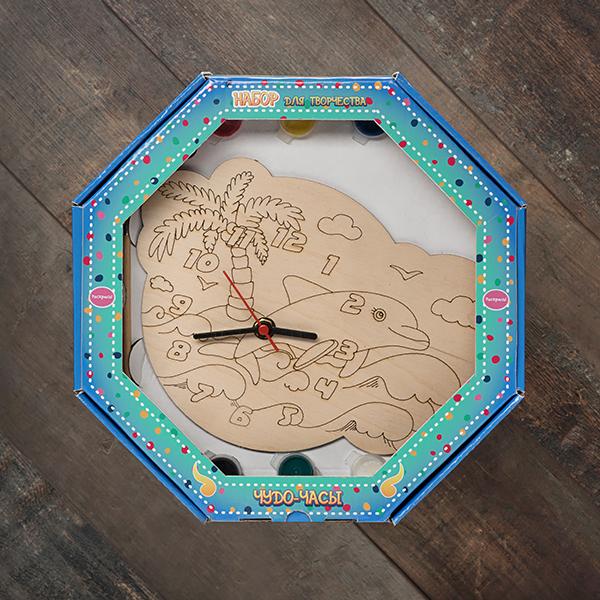 207625 Набор Чудо- часы Дельфин