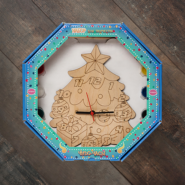 207626 Набор Чудо- часы Ёлка