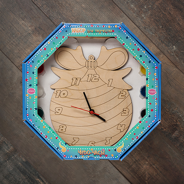 207628 Набор Чудо- часы Новогодний шар